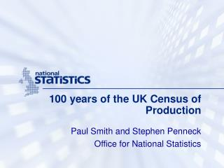 100 years of the UK Census of Production