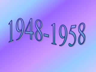 1948-1958