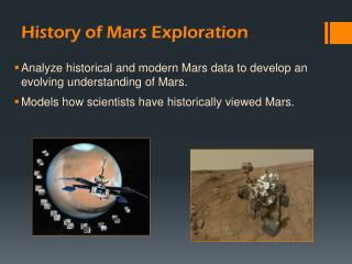 History of Mars Exploration