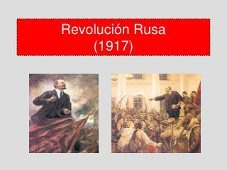 Revolución Rusa (1917)