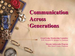 Communication Across Generations