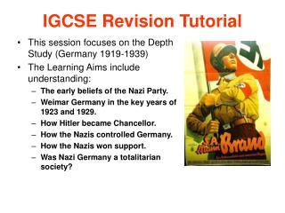 IGCSE Revision Tutorial