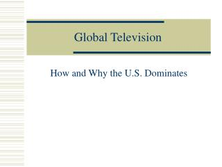 Global Television
