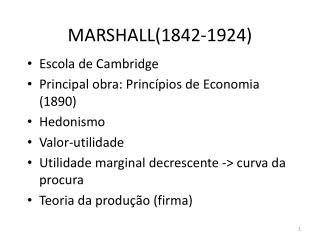 MARSHALL(1842-1924)