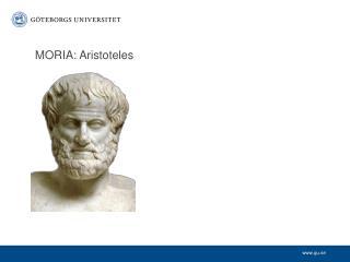 MORIA: Aristoteles