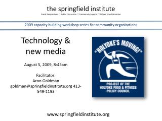 the springfield institute