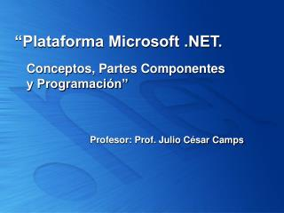 Plataforma Microsoft .
