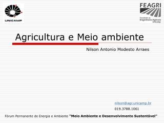 """Fórum Permanente de Energia e Ambiente """"Meio Ambiente e Desenvolvimento Sustentável"""""""