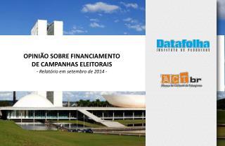 3.  Grau de informação sobre financiamento                 eleitoral