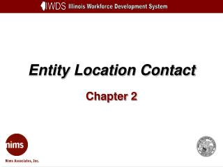 Entity Location Contact