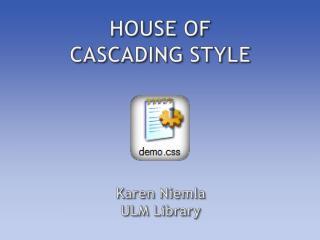 Karen  Niemla ULM Library