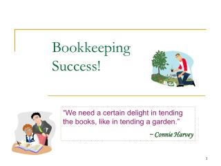 Bookkeeping Success!