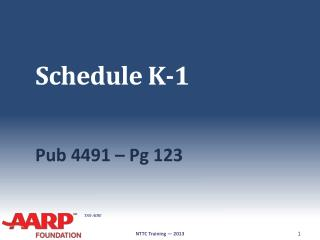 Schedule K-1