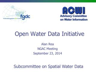 Open Water Data Initiative