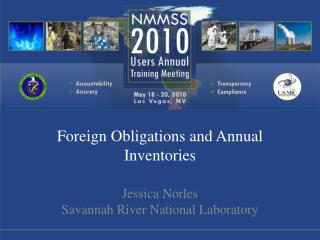 Foreign Obligations and Annual Inventories