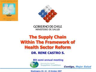 The Supply Chain  Within The Framework of Health Sector Reform