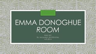 Emma Donoghue Room