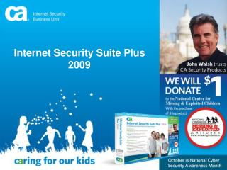 CA internet Security Suite Plus 2009 PowerPoint Presentation