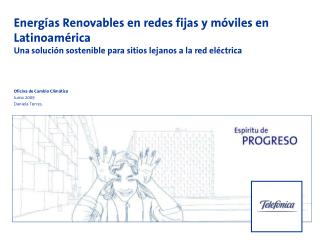 Energías Renovables en redes fijas y móviles en Latinoamérica