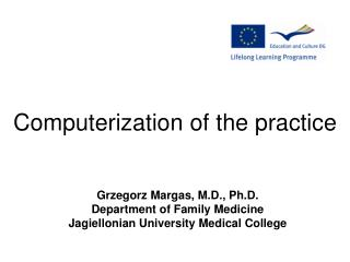 Computerization  of  the practice