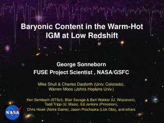 Baryonic Content in the Warm-Hot IGM at Low Redshift