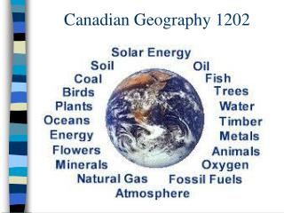 Canadian Geography 1202