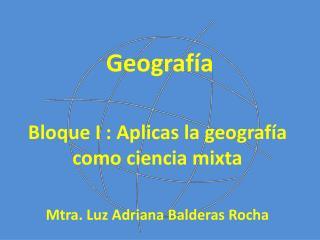 Geograf�a