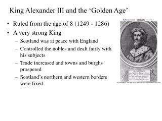 King Alexander III and the 'Golden Age'