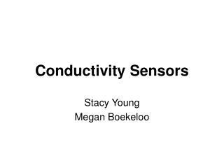 Conductivity Sensors