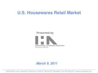 U.S. Housewares Retail Market