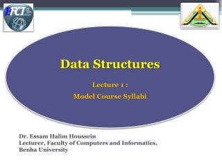 Dr. Essam Halim Houssein Lecturer, Faculty of Computers and Informatics,  Benha  University