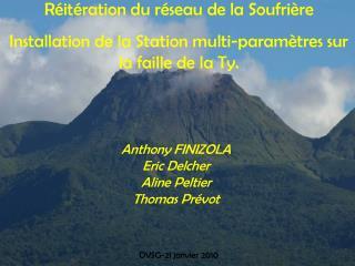 Anthony FINIZOLA  Eric Delcher Aline Peltier Thomas Prévot
