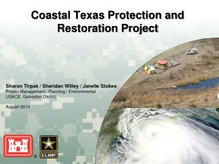 Coastal Texas Protection and Restoration Project