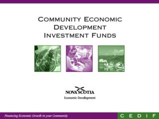 What is a Community Economic Development Investment Fund?