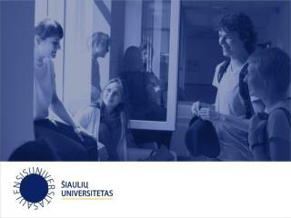 Tyrimo rezultatų pristatymas Studijų skyrius Studijų kokybės valdymo grupė Renata Bilbokaitė