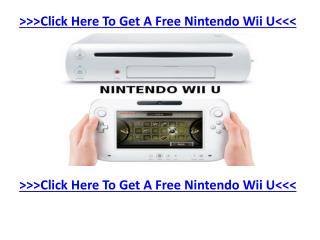 Brand New Nintendo Wii U - Get Your Hands On Your Cost-free