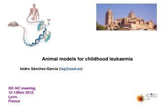 Animal models for childhood leukaemia Isidro Sánchez-García ( isg@usal.es )