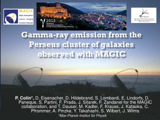 Gamma-ray emission from the Perseus cluster of galaxies   observed with MAGIC