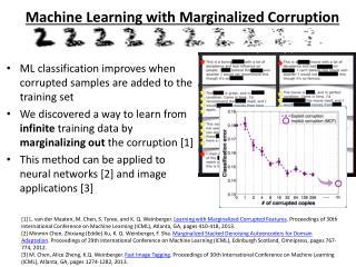 Machine Learning with Marginalized Corruption