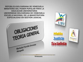 REP�BLICA BOLIVARIANA DE VENEZUELA MINISTERIO DEL PODER POPULAR PARA LA  EDUCACION UNIVERSITARIA