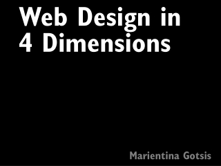 4- Web design introduction