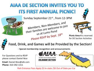 Members, Non-Members, and their families are  welcome to  join  us at  Lums Pond