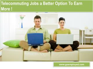 Goemployed - Online Guide For Home Based Jobs