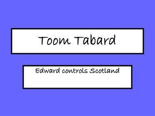 Toom Tabard