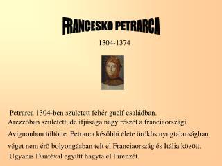 FRANCESKO PETRARCA