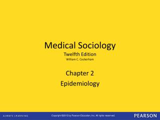 Chapter 2 Epidemiology