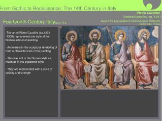 Fourteenth Century Italy