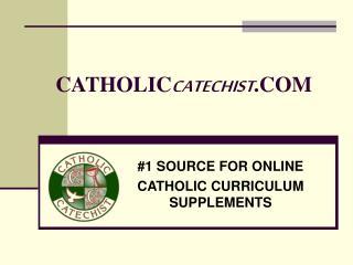 CATHOLIC CATECHIST .COM