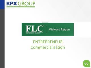 ENTREPRENEUR Commercialization