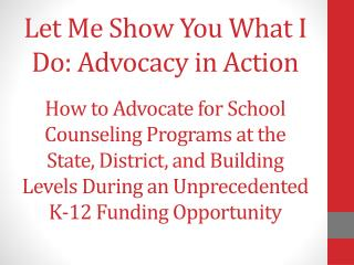 What is Advocacy and why is it so Important?